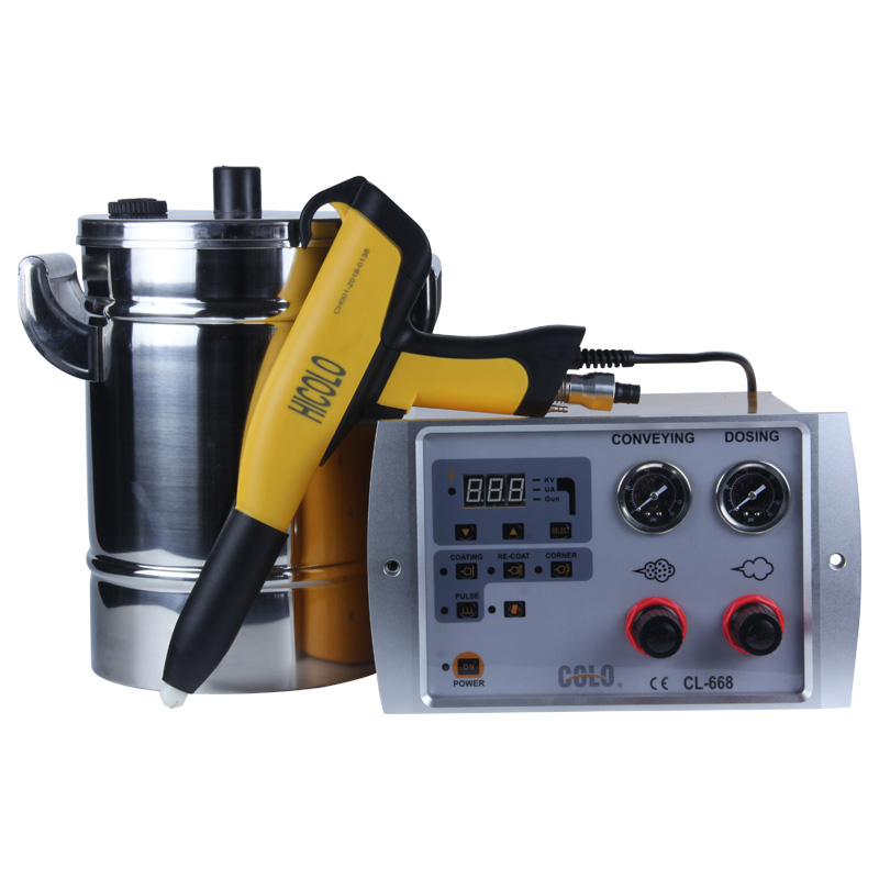 COLO-668T-H Portable Manual Powder Coating Gun