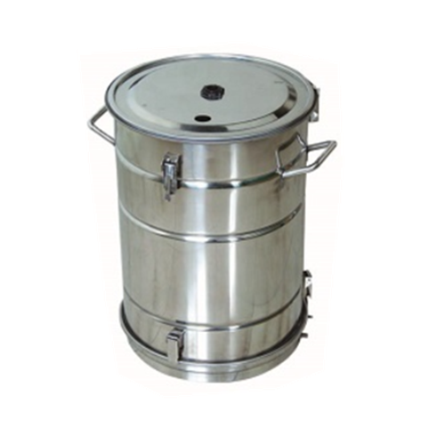 COLO-52A Stainless Steel Fluidizing powder hopper