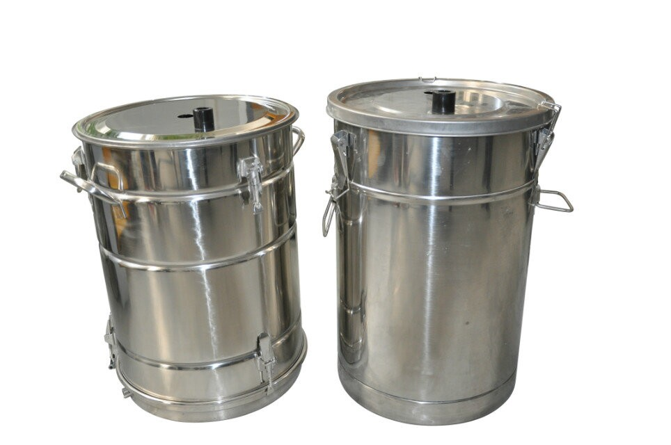 COLO-55A  Fluidizing Powder container